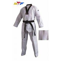 *Dobok Taekwondo ADIDAS CHAMPION II cuello negro - €61.95   https://soloartesmarciales.com    #ArtesMarciales #Taekwondo #Karate #Judo #Hapkido #jiujitsu #BJJ #Boxeo #Aikido #Sambo #MMA #Ninjutsu #Protec #Adidas #Daedo #Mizuno #Rudeboys #KrAvMaga #Venum