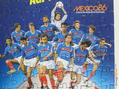 Coupe du Monde Football MEXICO 1986 .  www.muluBrok.fr Vintage