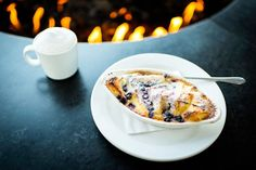 A Simple, Delicious Dessert: Blueberry Bread Pudding