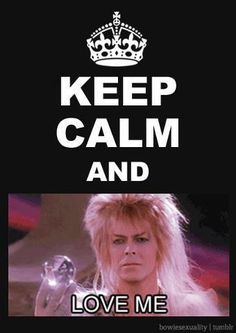 I always have & I always will :) <3 I'm a proud David Bowie fan and that will never ever change !!!
