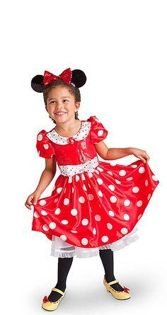 Disney STORE ミニーマウス ガール(レッド)  の画像