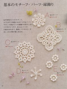 Floral applique geometric motifs by Stellaria - issuu