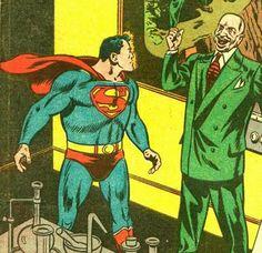 Wayne Boring Superman (and Lex Luthor!)