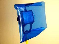 Baustrahler mit Filterfolien einsetzen