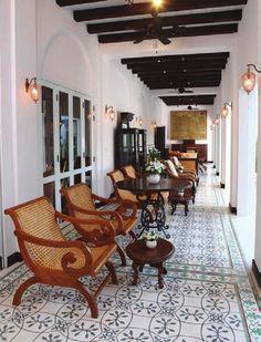 Classic Furniture Design British Colonial Ideas For 2019 British Colonial Decor, Modern Colonial, French Colonial, West Indies Decor, West Indies Style, Thai Decor, Colonial Furniture, Porch Furniture, Furniture Design