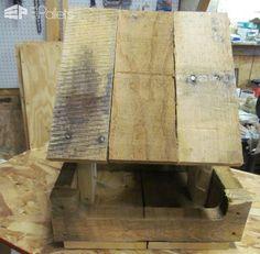 Pallet Wood Bird Feeder Animal Pallet Houses & Pallet Supplies