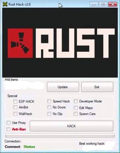 Rust Aimbot No Survey and No Password ... The most useful option in our Rust Hack is the Rust Aimbot which provides you with latest pixel