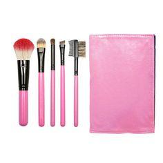 AANGEPASTE make up borstels roze platte Brush door MyMakeupBrushes