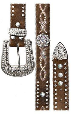 Country Western Clothing for Women | Nocona® Women's Rhinestone Western Belt