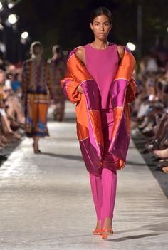 Maltese, Sari, Orange, Purple, Coat, Collection, Fashion, Moda, Saree