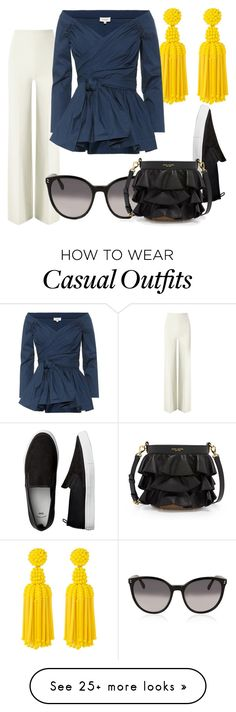 """Buisness Casual"" by maggisp on Polyvore featuring Roland Mouret, Deepa Gurnani, Isa Arfen, STELLA McCARTNEY, Henri Bendel, ruffles, GIRLBOSS and RuffLyfe Casual Wear, Casual Outfits, Cute Outfits, Deepa Gurnani, Isa Arfen, Roland Mouret, Buisness, Henri Bendel, Fashion Ideas"