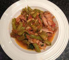 Chicken and Bean Stew (Greek recipe)