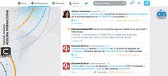 Marketing Internacional y Comercio Exterior. Internacionalización.: Ranking de influencia de proveedores de servicios de comercio exterior en Twitter: @carmenurbano y @COMINTON