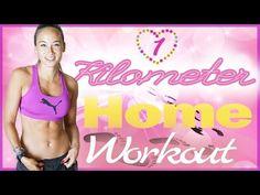 1 Kilometer Beine & Po Home Workout - NEUE Trainingsart - Für Anfänger -...
