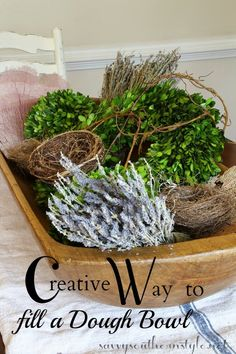 Ideas For Filling Decorative Bowls Wwwdigsdigs 35Awesomeideastousedoughbowlsinhomedecor