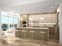 Future Highland Beach Condo Project- Kitchen color scheme A