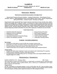 Hostess Sample Resume Ideas About Executive Resume Template On
