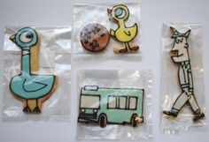 Don't Let The Pigeon Drive The Bus cookies