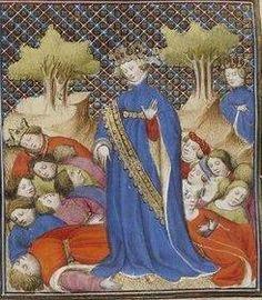 Giovanni Boccaccio, De Claris mulieribus; Paris Bibliothèque nationale de France MSS Français 598; French; 1403, 24v. http://www.europeanaregia.eu/en/manuscripts/paris-bibliotheque-nationale-france-mss-francais-598/en