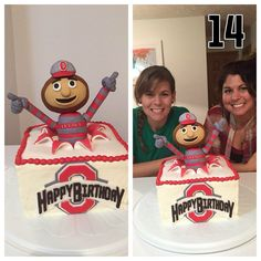 Groom S Cake Osu Buckeyes My Fairytale And Cookie Designs