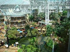 Opryland Hotel - where my brother was married and what a place to get married in. That was so nice!