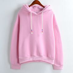 """Sweet pastel fleece hoodie $27.70 via:http://cuteharajuku.storenvy.com coupon """"insta"""" 10% off Top Women Street Fashion Clothing & Accessories Online Store. Style:korean Pattern:pastel Material:cotton blend Color:white.khaki.pink.yellow.gray.green.black.dark blue.sky blue.lake blue  Size: Shoulder:47cm/18.50"""" Bust:104cm/40.94"""" Sleeve length:56cm/22.04"""" Length:55cm/21.65"""" Waist:96cm/37.79""""  Tips: *Please double check above size and consid..."""