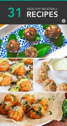31 Easy Meatball Recipes for Quick-Fix Meals #recipes #healthy #meatballs