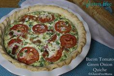 Gluten Free Bacon & Tomato Quiche