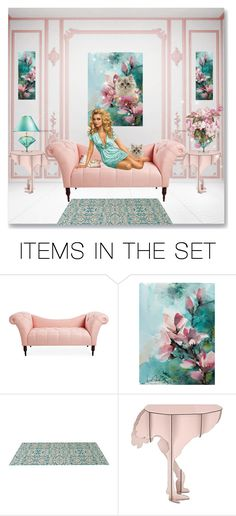 """""""Group Logo: Dolls & Dream Houses"""" by itsablingthing ❤ liked on Polyvore featuring art"""