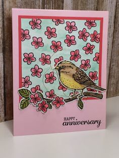 Paper, Pansies and Pachyderms: Best Birds and Birds & Blooms Stampin' Up!