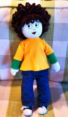 My talented mom, Suzie Reid, made a Whole Body Listening Larry doll for Elizabeth Sautter to use in therapy sessions. Check out Elizabeth's books: WBLL at Home and WBLL at School.