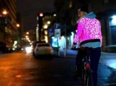 Super cool Urban Circus reflective jackets - great for cycling! Street Art, Cycling, Bicycling, Biking, Road Cycling, Urban Art, Spinning