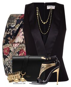 A fashion look from July 2016 featuring peplum shirt, fold-over maxi skirt and crossbody purse. Browse and shop related looks. Dressy Outfits, Chic Outfits, Work Fashion, Fashion Looks, Fashion Today, Capsule Wardrobe Women, Office Dresses For Women, Professional Outfits, Fashion Dresses