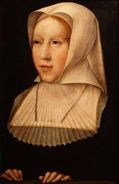 margaret of austria | Portrait of Margaret of Austria (1480-15 - Bernard van Orley as art ...