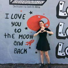 #ILoveYouWall by Shelbi Nicole in the Houston Heights in Houston Texas   Houston Street Art | Houston Murals | Houston Graffiti | Houston Art Walls