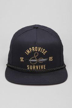 Us Versus Them Jungle Snapback Hat  #UrbanOutfitters