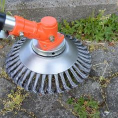 8 Inch Steel Wire Wheel Grass Cutter Trimmer Parts General Wear-Resistant Multi-Function Steel Wire Rust Removal Weeding Plate Mower Head Blade Garden Weeds, Garden Tools, Garden Grass, Grass Weeds, Grass Cutter, Dust Removal, How To Remove Rust, Removing Rust, Wire Brushes