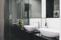 Trinity INterior Design was delighted to be referred to work with our clients during the build of their new penthouse Parnell apartment with beautiful westerly views. Portland Apartment, Bathroom Interior Design