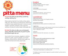 What's a Pitta to eat? Find out at heymonicab.com!