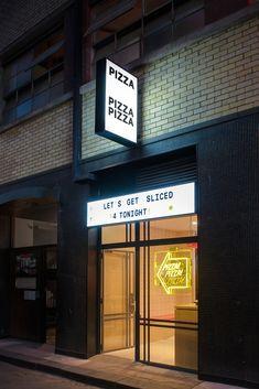 Lamaro & # s Bodega – Alter – Pizza - Pizza Restaurant, Restaurant Signs, Lobster Restaurant, Pizzeria Design, Pizza Branding, Bar Interior Design, Cafe Design, Pizza Sign, Pizza Pizza