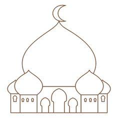 Eid Crafts, Ramadan Crafts, Human Body Crafts, Decoraciones Ramadan, Strawberry Shortcake Coloring Pages, Cool Paper Crafts, Diy Birthday, Islamic Art, Preschool Crafts