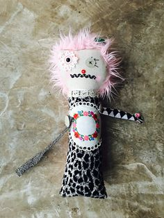 pink rocker doll 18 by on Etsy Pink And Gray Nursery, Pink Grey, Dolls, Christmas Ornaments, Trending Outfits, Holiday Decor, Unique Jewelry, Handmade Gifts, Etsy