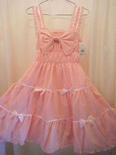 Beautiful bow dress #spica