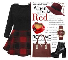 """""""Romwe 5."""" by selmagorath ❤ liked on Polyvore featuring Marc by Marc Jacobs, black, romwe, blackboots, blackdress and blackoutfit"""