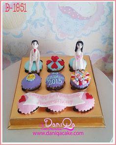 DaniQa Cake and Snack: Cupcake set anniversary