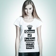 Queen #tshirt from #PornCorn. #Awesome #tshirts by #NOH8 Syndicate! Be #original and in #fashion!