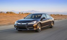 2016 Honda Accord sedan has a modified front fascia and a more rigid body. Remote start is presented on the EX, while the Touring increases LED headlights, auto high beam, heated rear car seats and rain sensing wipers. All trims can now be equipped with the Honda Sensing package.
