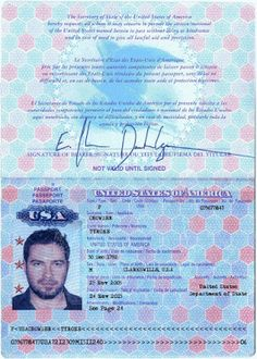 British Passport Template - Well, we all need one! This handy passport ...