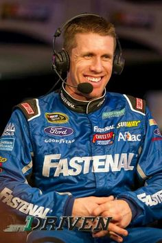 Carl Edwards--  #TheDaytona500- What a great smile!!!
