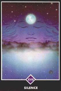Silence in                  Osho Zen Tarot